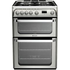Hotpoint HUG61X Cooker Gas 60Cm Wide