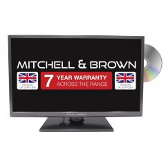Mitchell And Brown JB241811FSMDVD 24` HD Ready Smart Led With Built In DVD Player