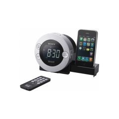 Sony ICFC7IPS Clock Radio For Ipod