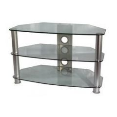 Vivanco U K Ltd BRISA B800C (26062) 800Mm Clear Glass Stand